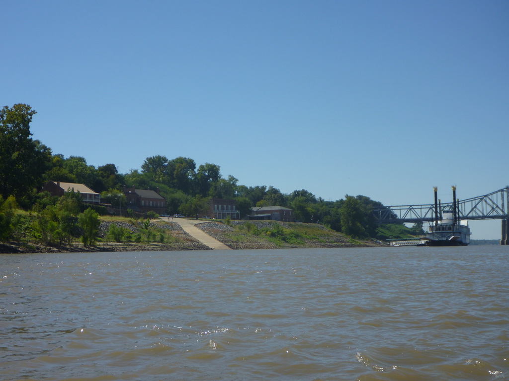 Approaching Natchez Under-The-Hill