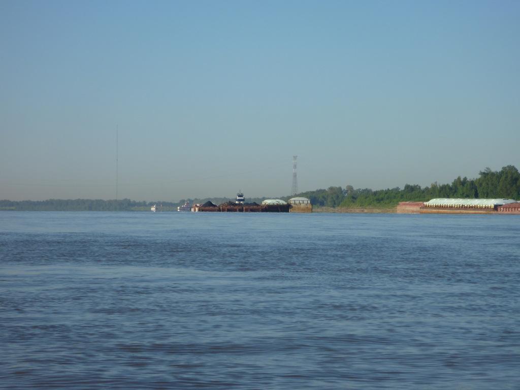 Barges Bearing Down