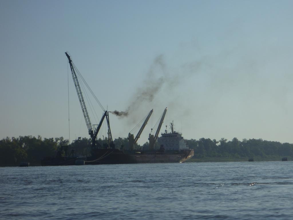 Loading Tanker